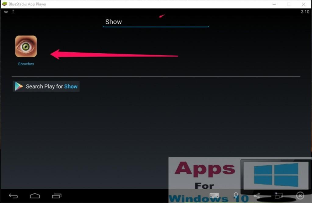 ShowBox for PC Windows 10