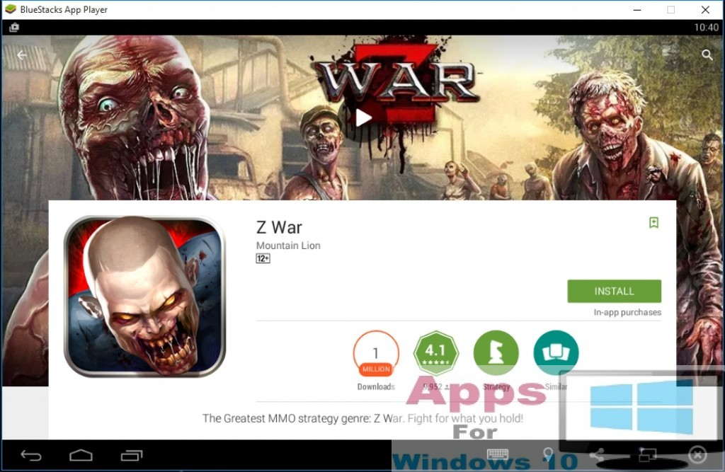 Z War for PC