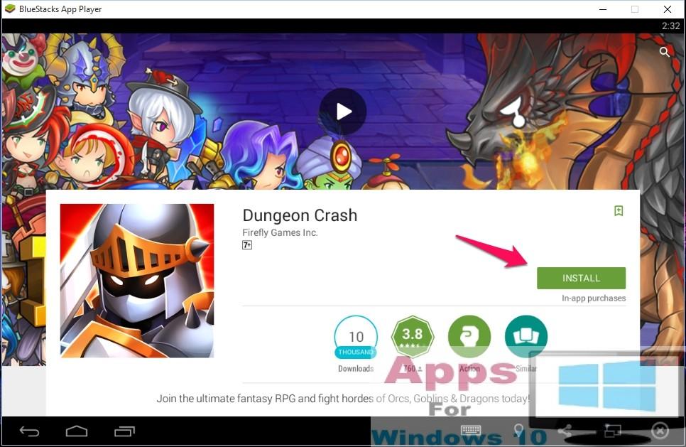 Dungeon_Crash_for_Windows10