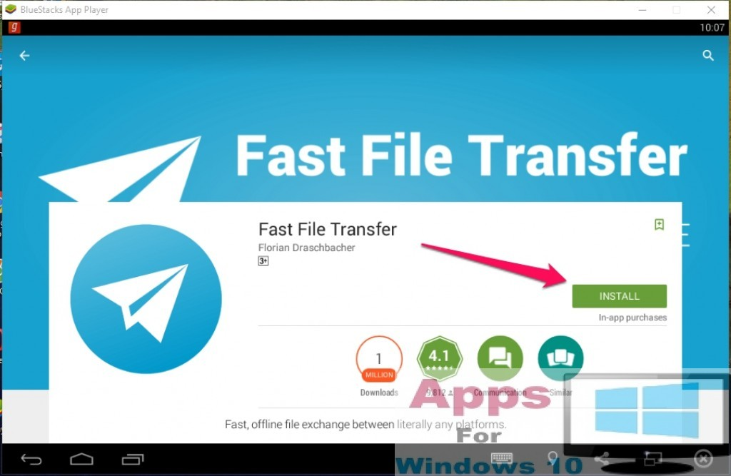Fast File Transfer for Windows 10 (1)
