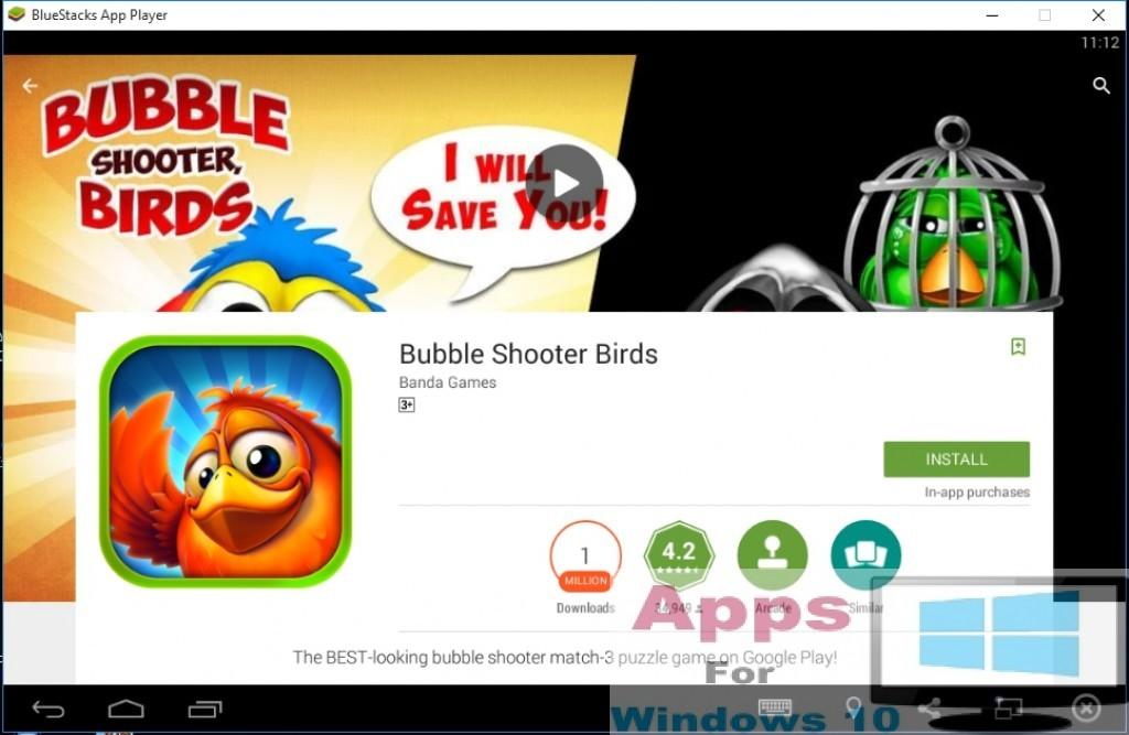 Bubble Shooter Birds for Pc