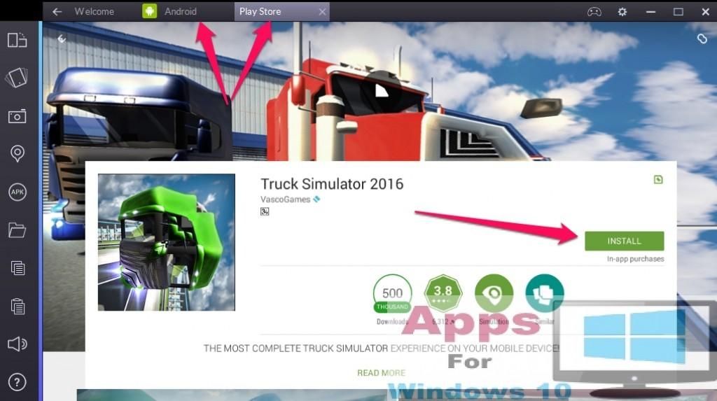 Truck_Simulator_for_Windows10_PC_Mac