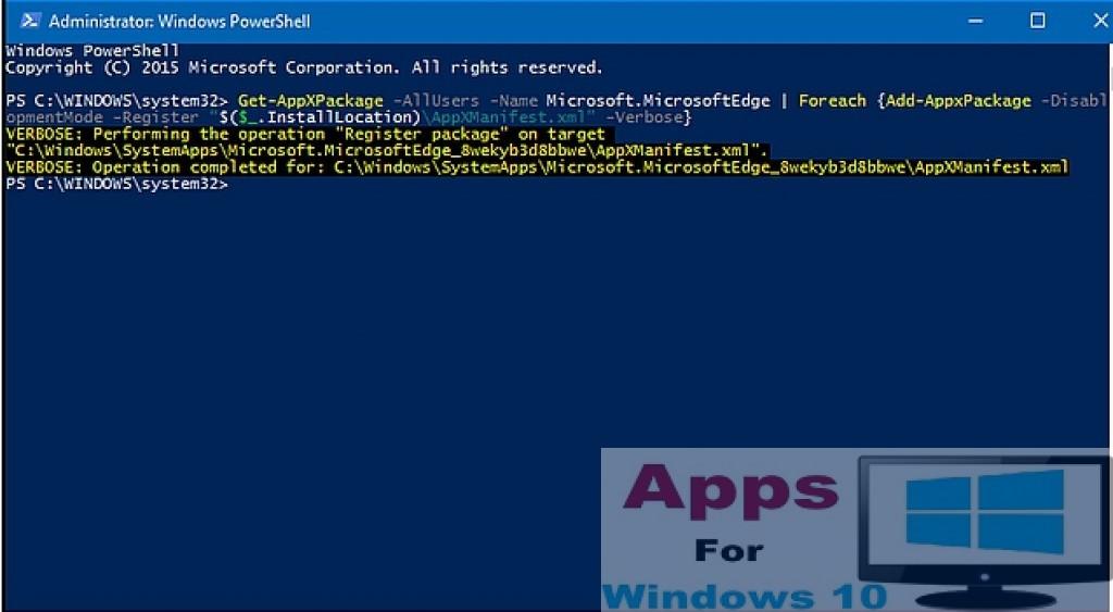 PowerShell_Windows10