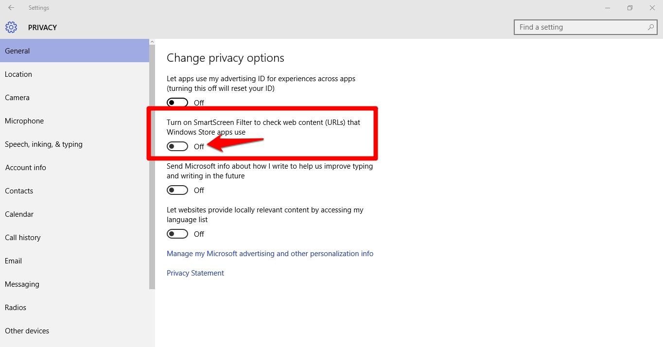 Disable_SmartScreen_Filter_on_Windows10_PC