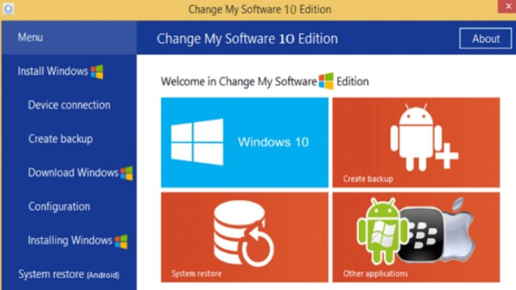 change my software 8 edition free download