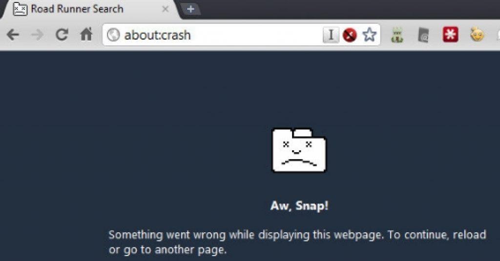 Fix_Google_Chrome_Unrespsonsive_Page_Error