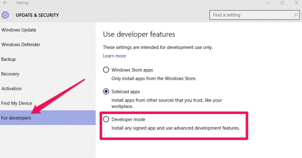 developers_mode_windows
