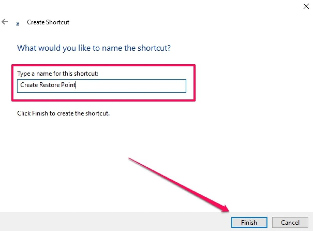 Restore_Point_Shortcut