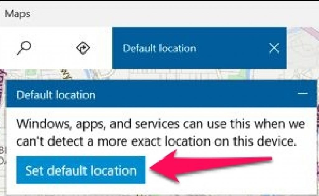 Windows_10_Maps_App_Defeault_Location_Box