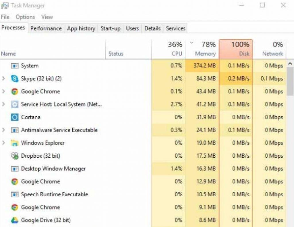 100-disk-usage-problem-fix