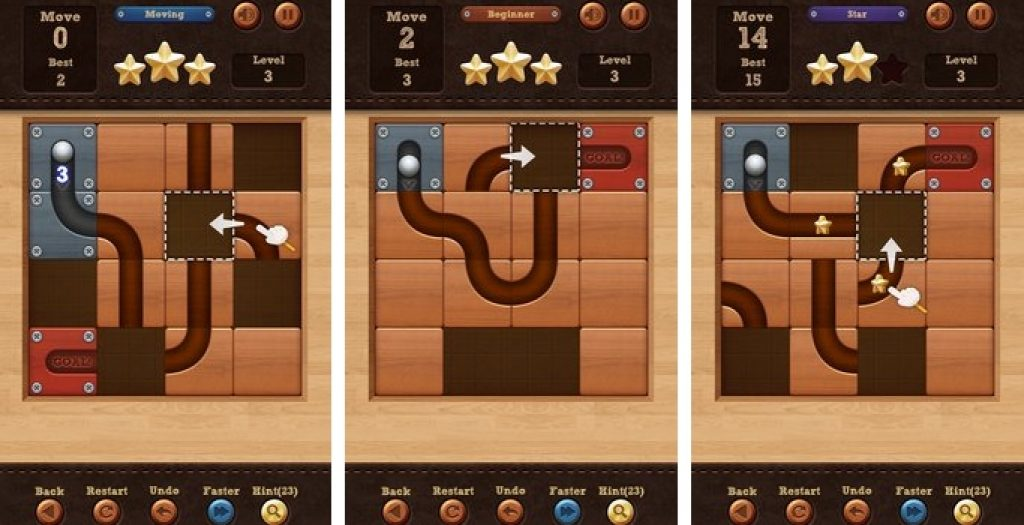 roll the ball slide puzzle for pc