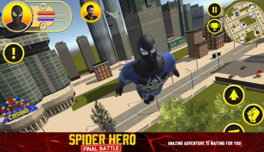spider hero final battle for pc download
