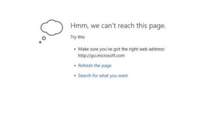 fix can't reach this page issue on microsoft edge browser