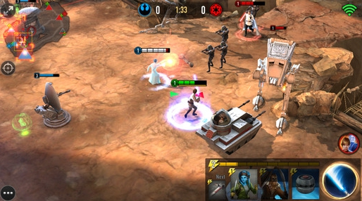 star wars force arena for pc