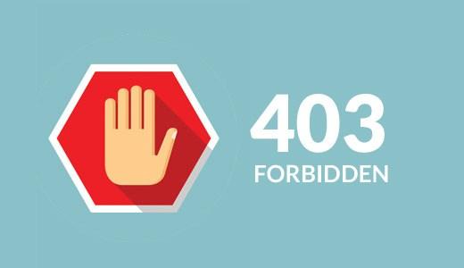 fix 403 forbidden error on IDM