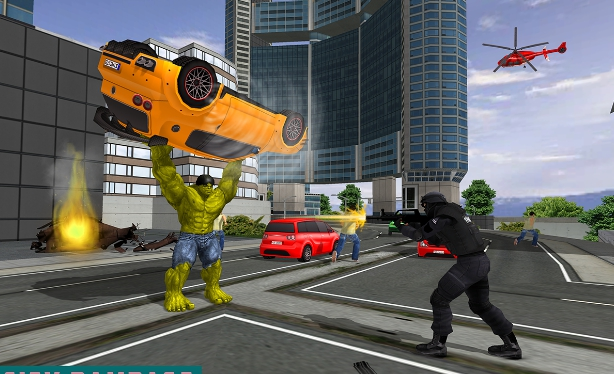 monster hero city battle for pc free download