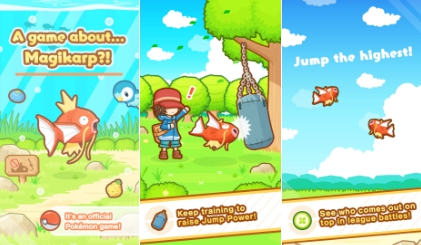 pokemon magikarp jump for pc free download