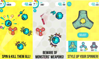 spinners vs monsters for pc download