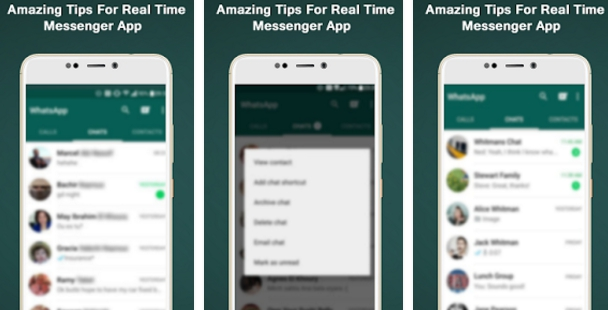whatsapp messenger tips app for pc download