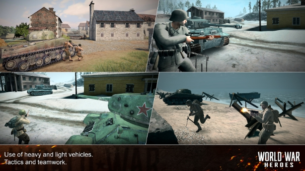 world war heroes WW2 online fps download on pc