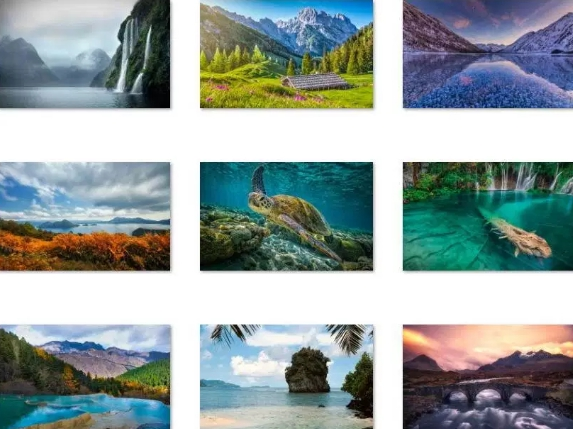 world-national-parks-theme-windows-10