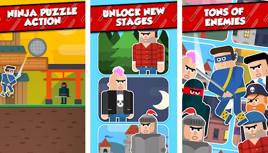 Mr Ninja Slicey Puzzles for PC